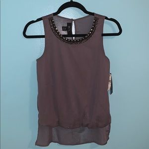 NWT BCX Blouse with Accenting